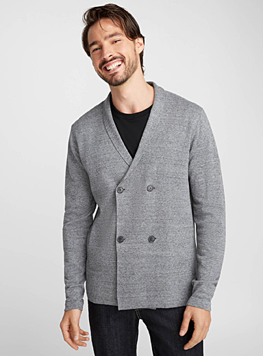 Double-breasted cardigan