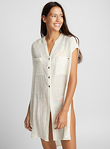 Raw beauty beach tunic