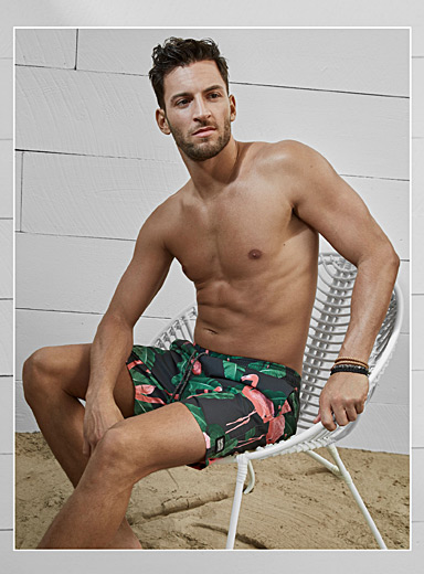 Le boardshort flamants roses