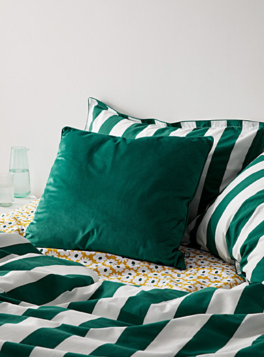 Soft velvet Euro cushion  26&quote; x 26&quote;