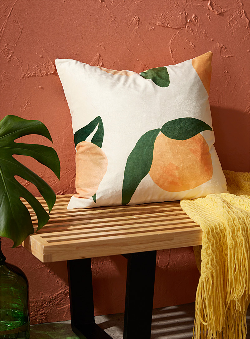 Simons Maison Assorted Juicy peach cushion  45 x 45 cm
