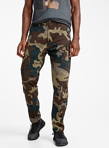 Lo-Ball camouflage cargo pant <br>Straight fit