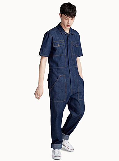 Denim coverall  Straight fit
