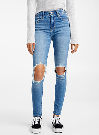 721 ripped knee jean