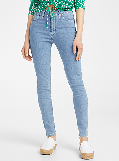 Levi's Teal 721 high-rise jean for women