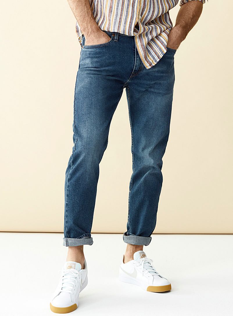 Minimalist 512 blue jean  Slim fit