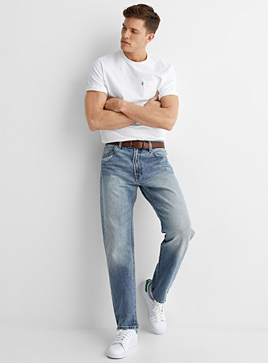 Light blue 551 Z Authentic dad jean Straight fit