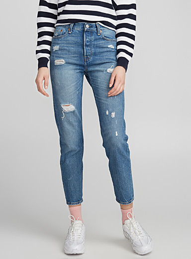 Wedgie high-rise jean