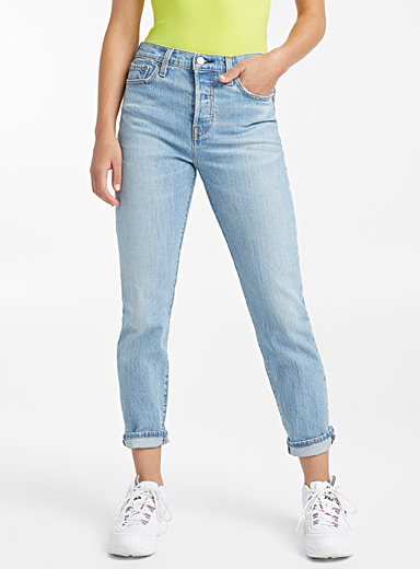 High-rise Wedgie jean