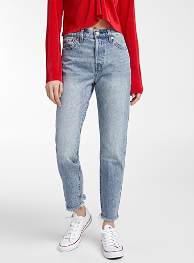 Le jeans taille haute Wedgie
