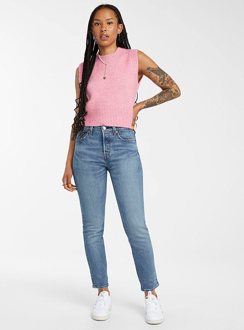 Levi's Oxford High-rise Wedgie jean for women