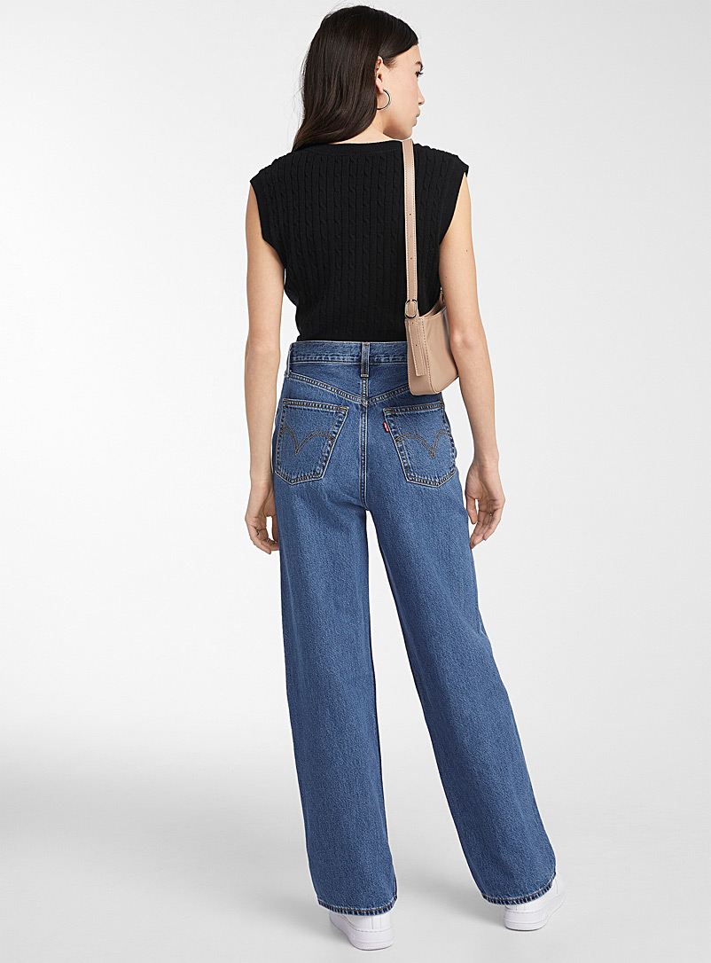 Levi's Sapphire Blue Loose ultra high-rise jean for women