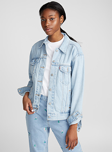 Ex-Boyfriend trucker denim jacket