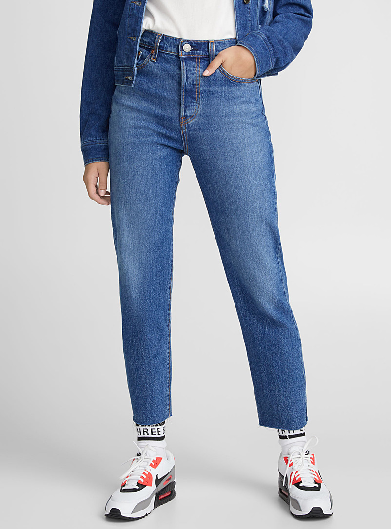 le-jeans-taille-haute-wedgie-delave