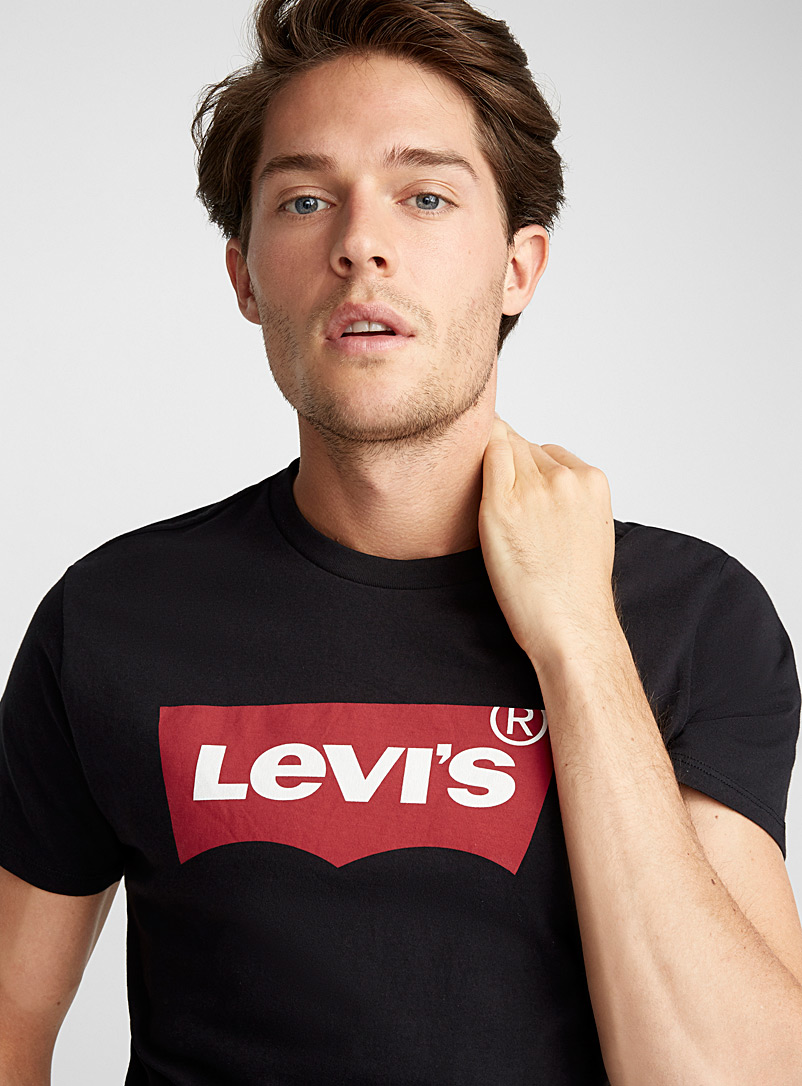 Levi's Black Levi's 90's T-shirt for men