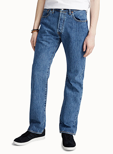 Faded blue 501 jean  Straight fit