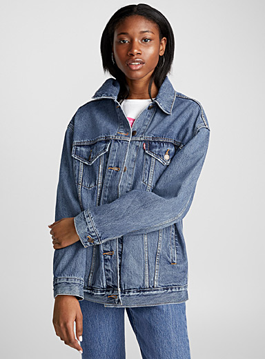 Baggy denim jacket