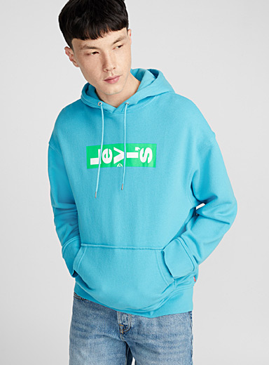 Lazy neon logo hoodie