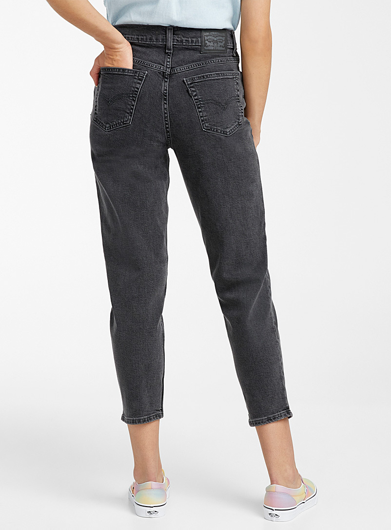 Levi's Oxford Basic faded mom jean for women