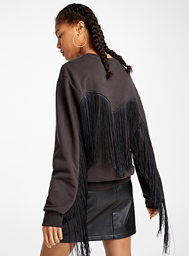 Le sweat franges western