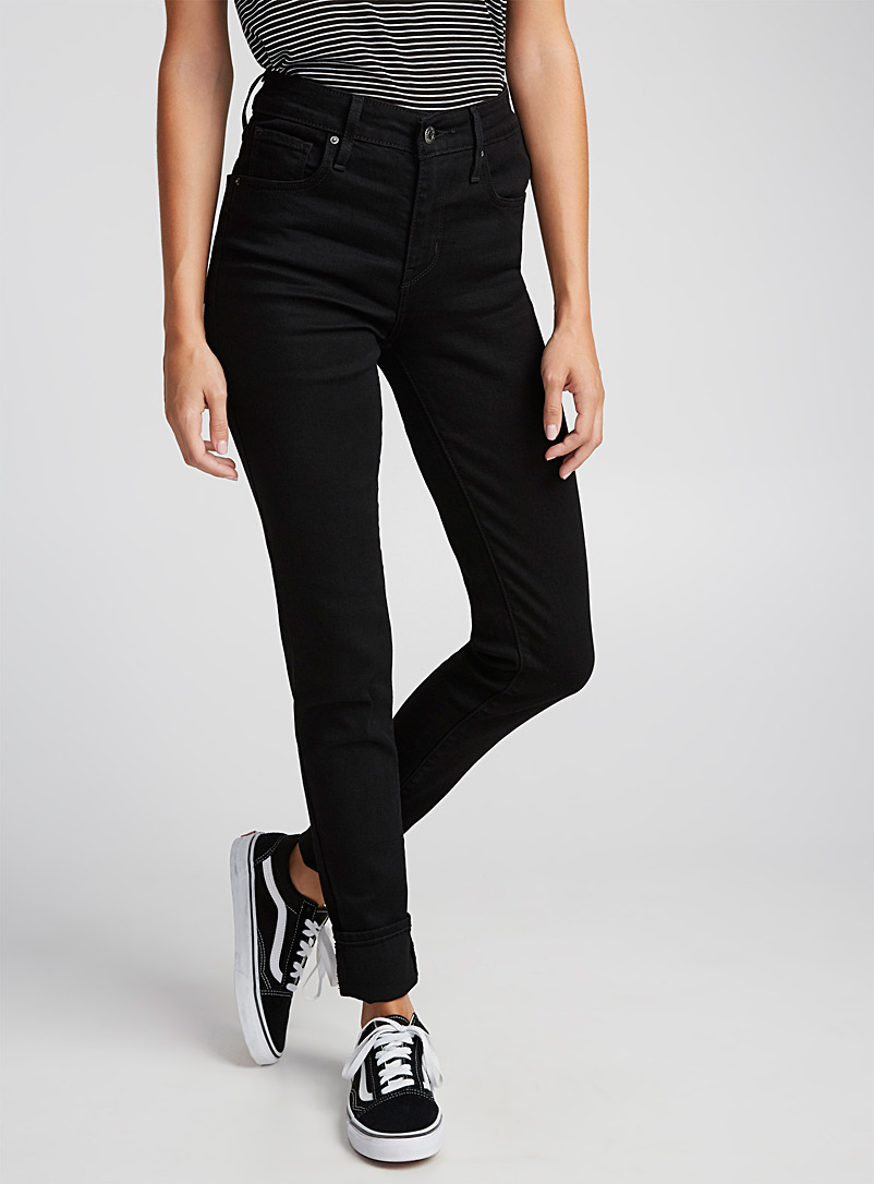 Levi's Black Black 721 jean for women