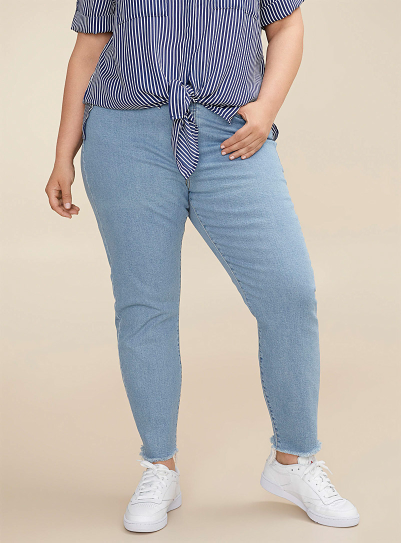 Wedgie high-rise jean  Plus size