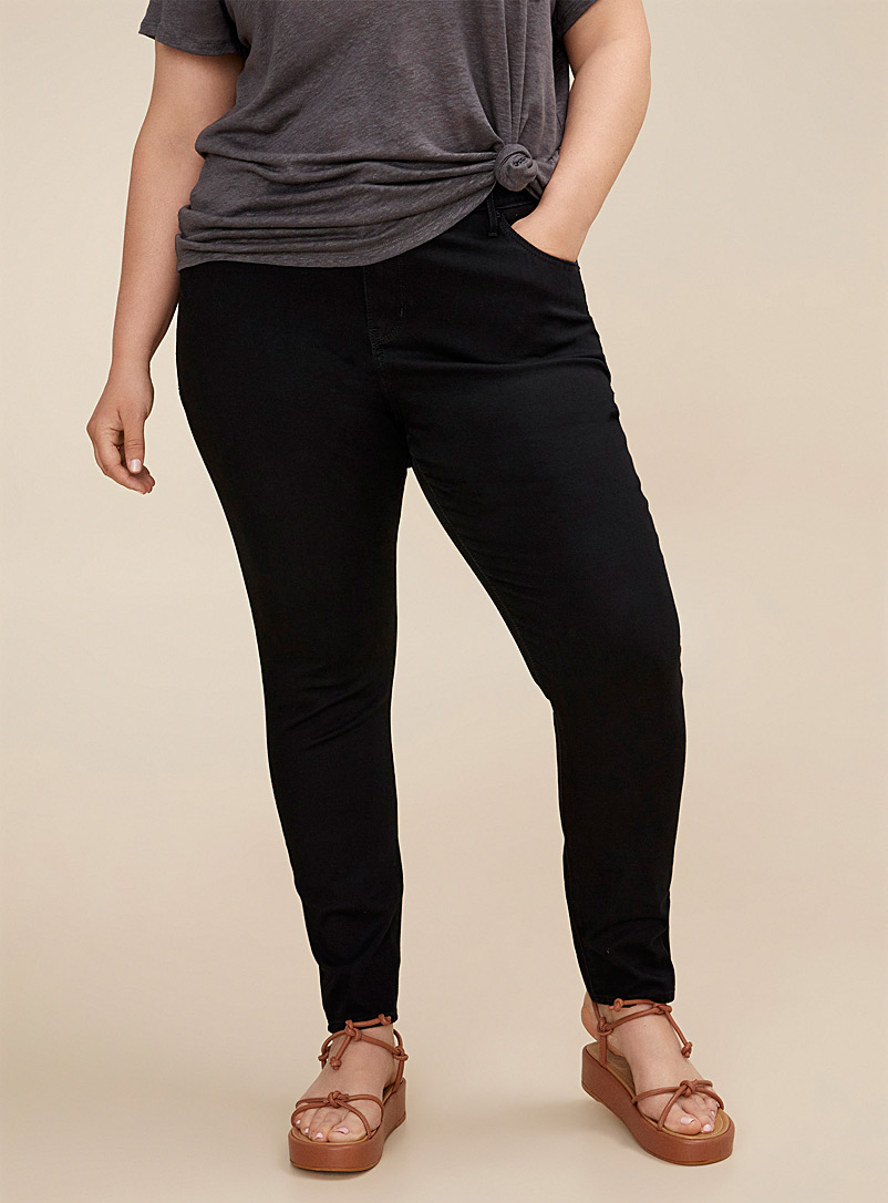 Levi's Black 721 high-rise jean  Plus size for women