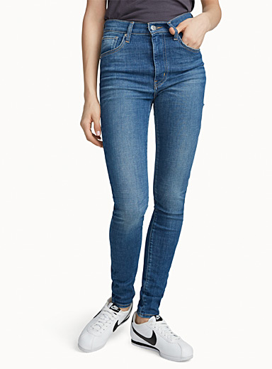 Ultra high-rise skinny jean
