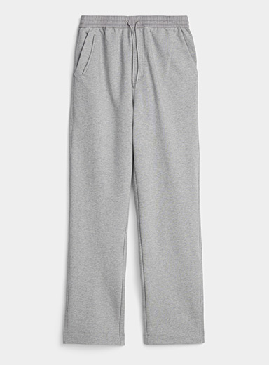 Y-3 Adidas Grey Heather jersey pant for men
