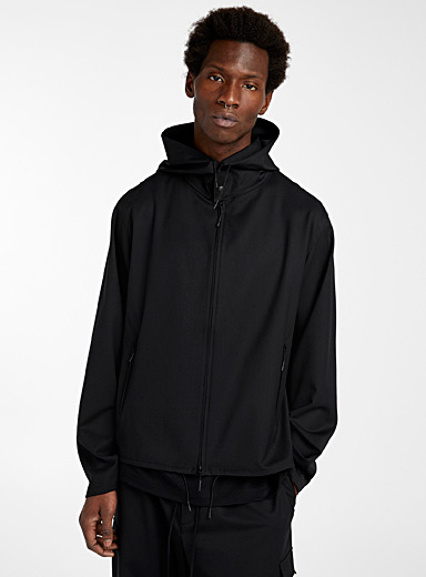 Y-3 Adidas Black Craft windbreaker for men