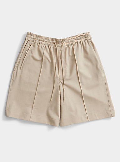 Y-3 Adidas Khaki Classic Bermudas for men