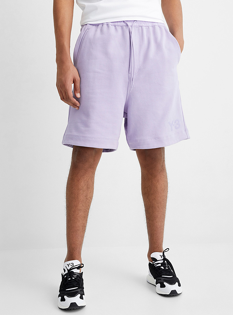 Y-3 Adidas Assorted Logo terry jersey Bermudas for men