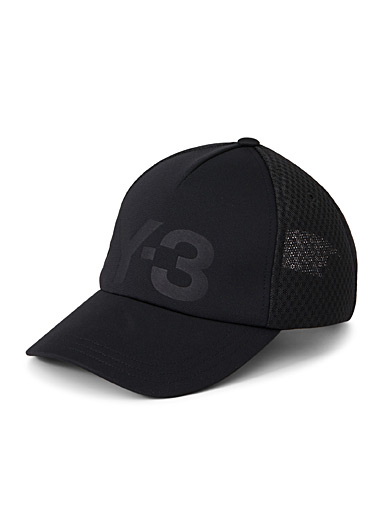 Embossed logo trucker cap