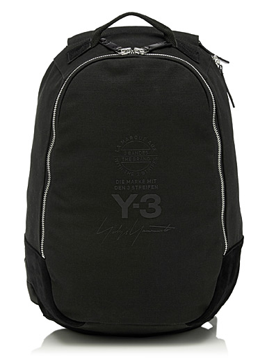 Canvas logo backpack