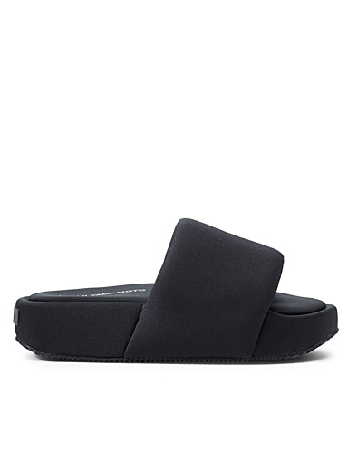 Y-3 Adidas Black Comfylette slides for men