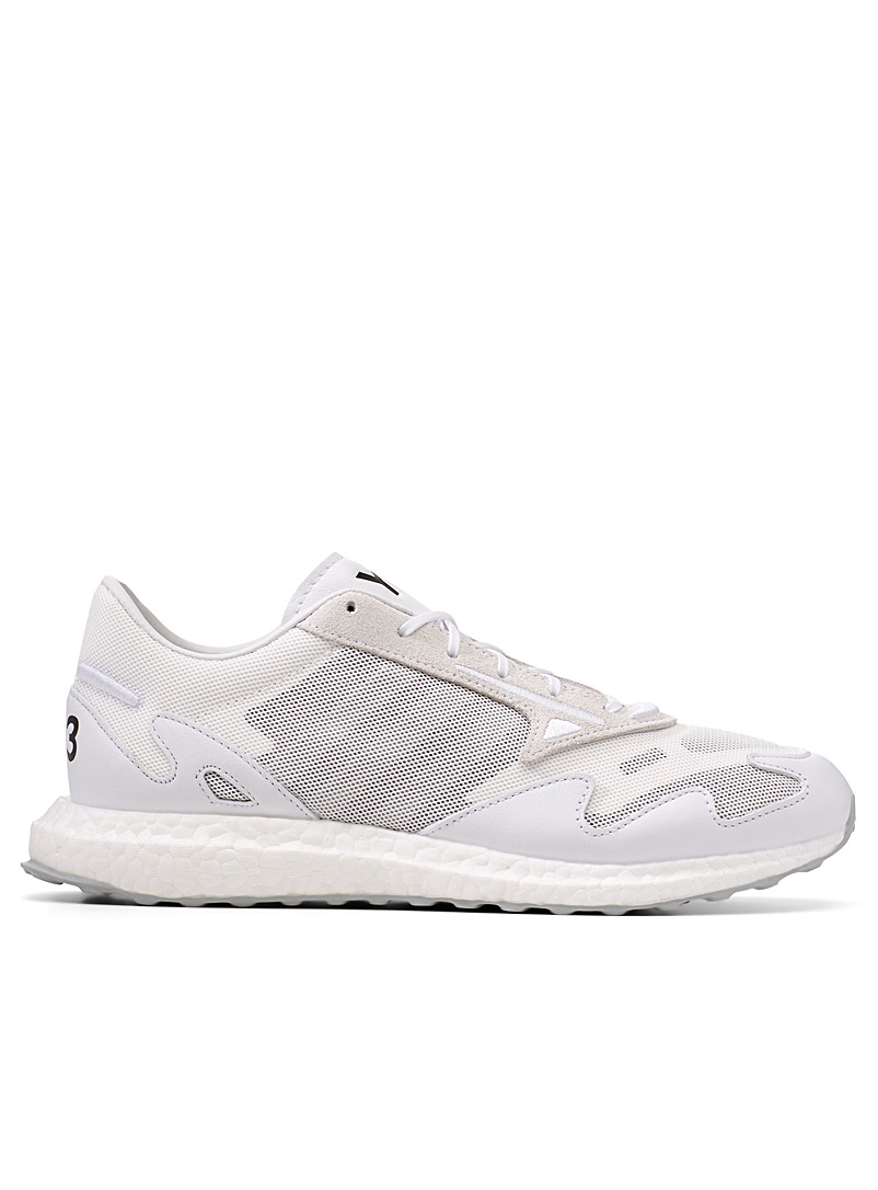 Y-3 Adidas White White Rhisu Run sneakers  Men for men