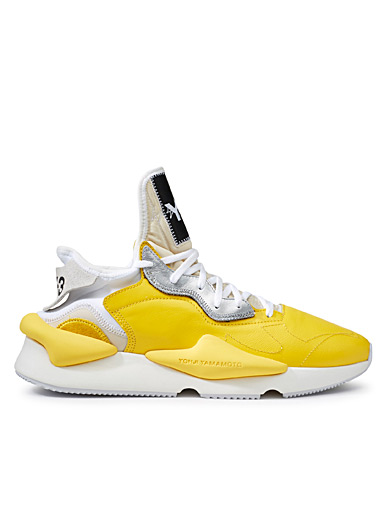 Le sneaker Kaiwa jaune <br>Homme