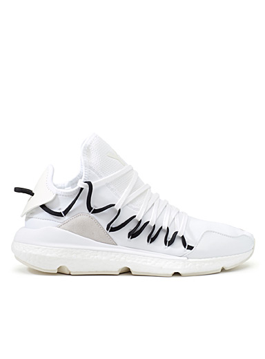 White Kusari sneakers <br>Men