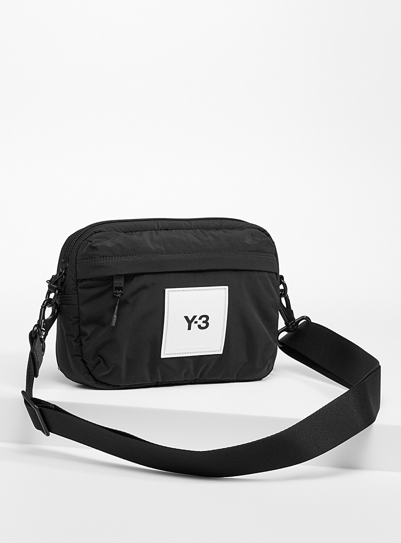 Y-3 Adidas Black CL Sling belt bag for men