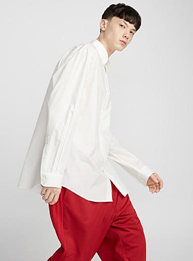 Oversized logo shirt