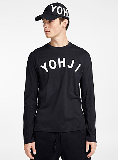 Yohji long-sleeve T-shirt