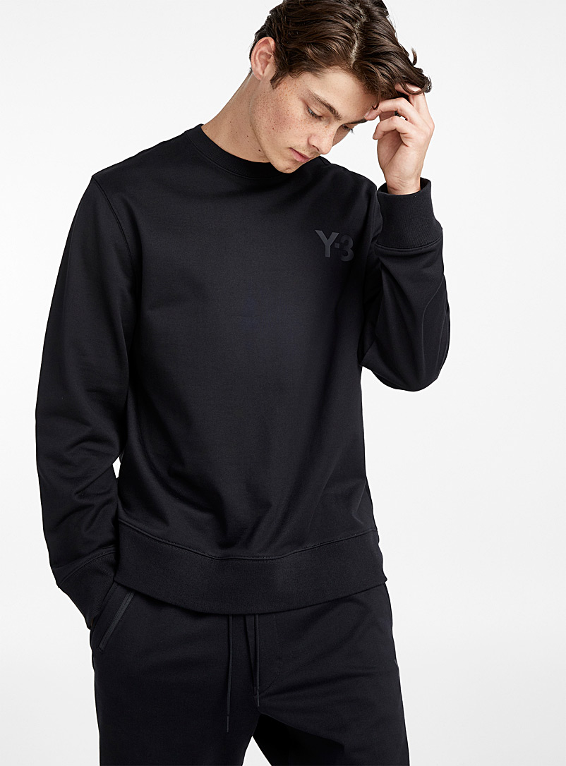 Crew-neck sweatshirt - Y-3 - Black