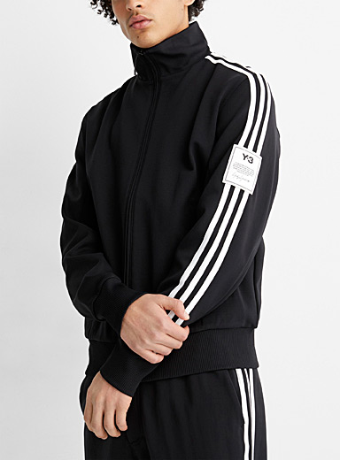 3-stripe sleeve track jacket