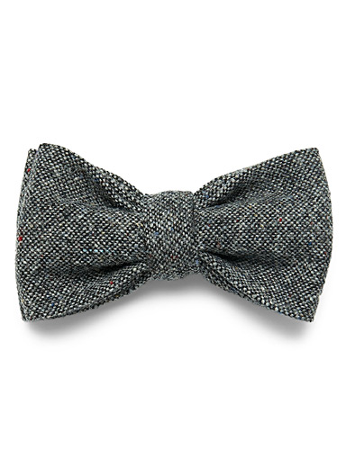 Le noeud papillon tweed confettis