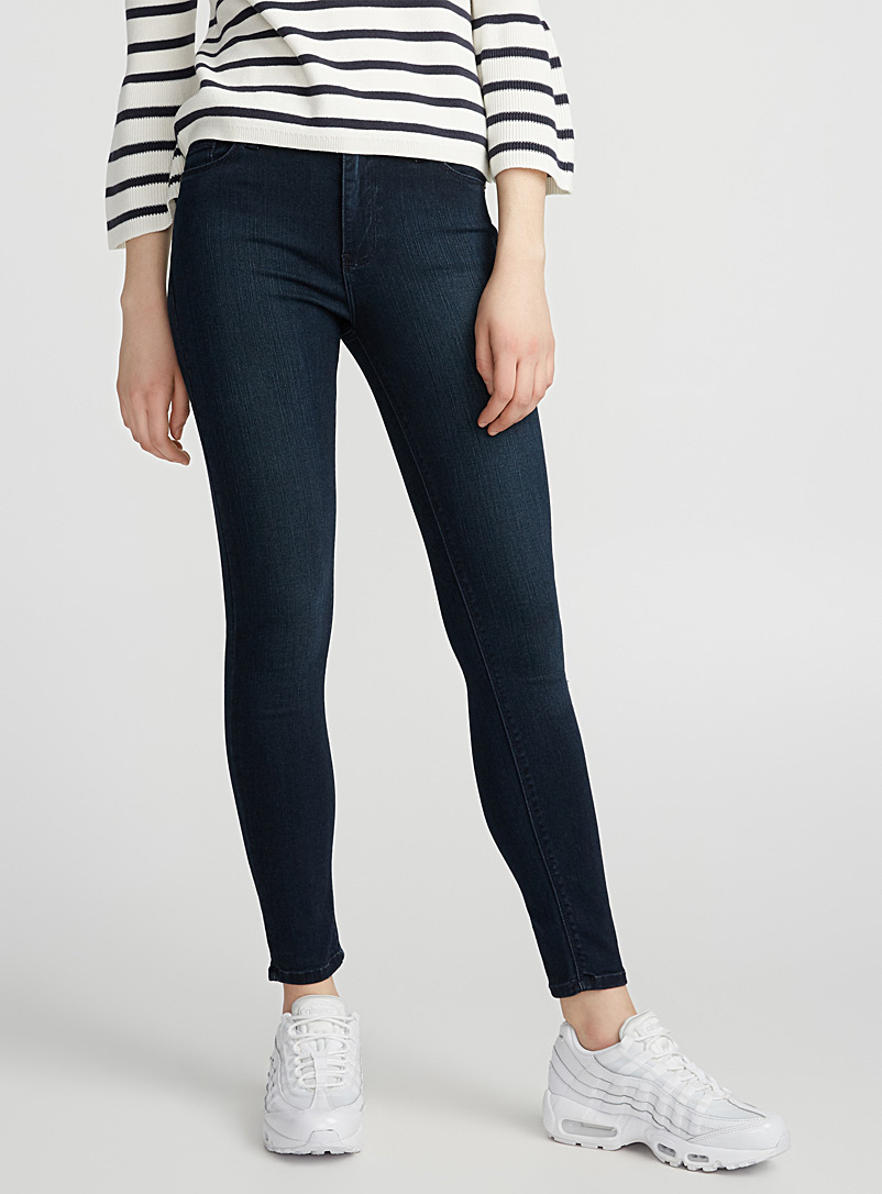 Just Black Blue Essential skinny jeans for women