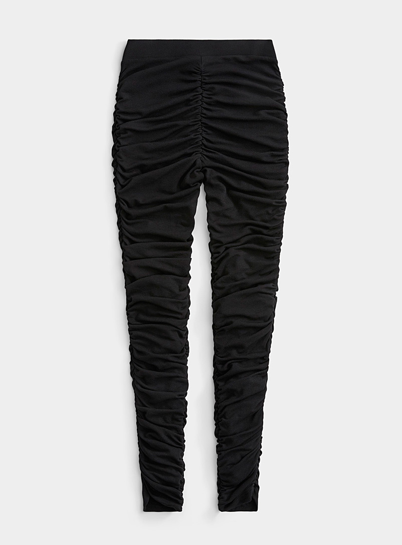 Twik Black Ultra pleated legging for women