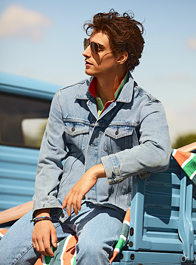 Authentic jean jacket