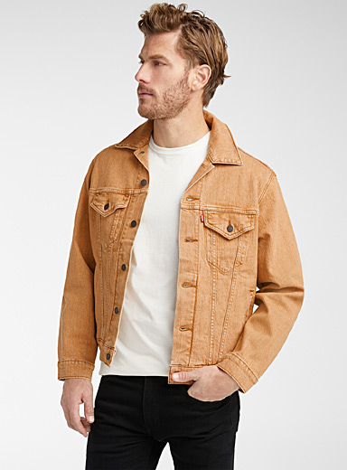 Levi's Fawn Trucker vintage jean jacket for men