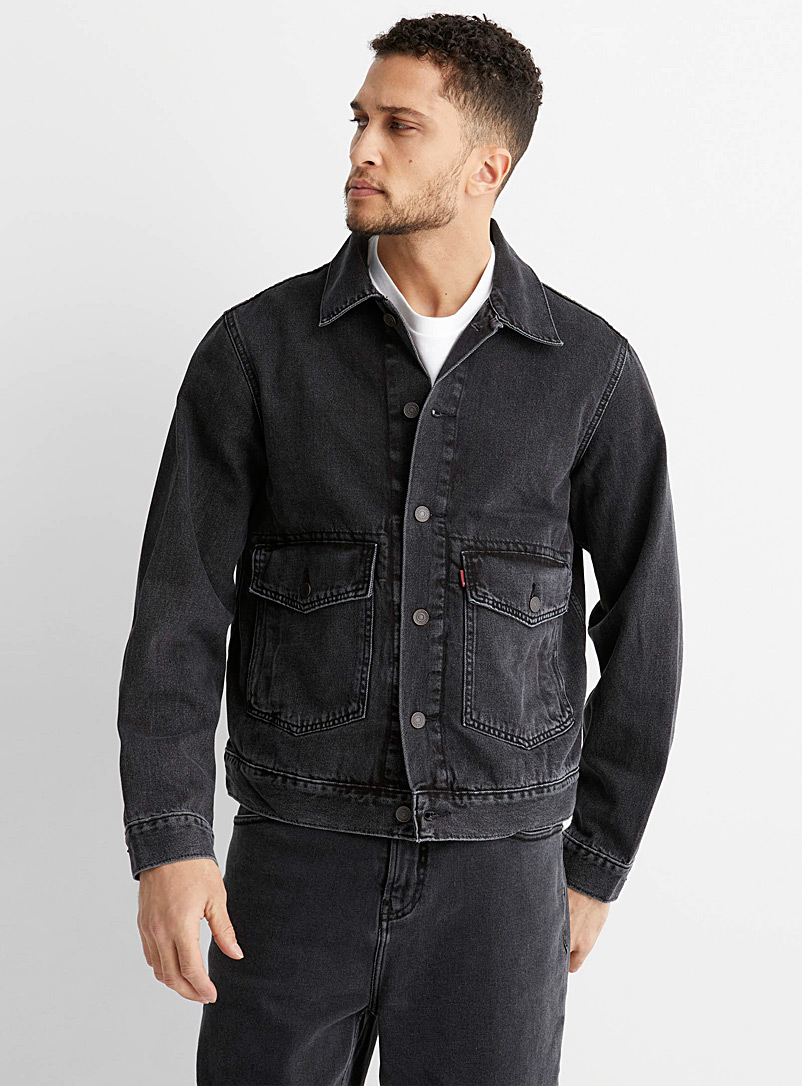 Levi's Oxford Trucker workwear jean jacket for men