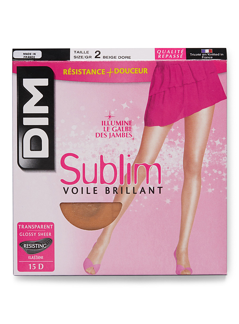 Sublim glossy sheer pantyhose - Regular Nylons - Beige